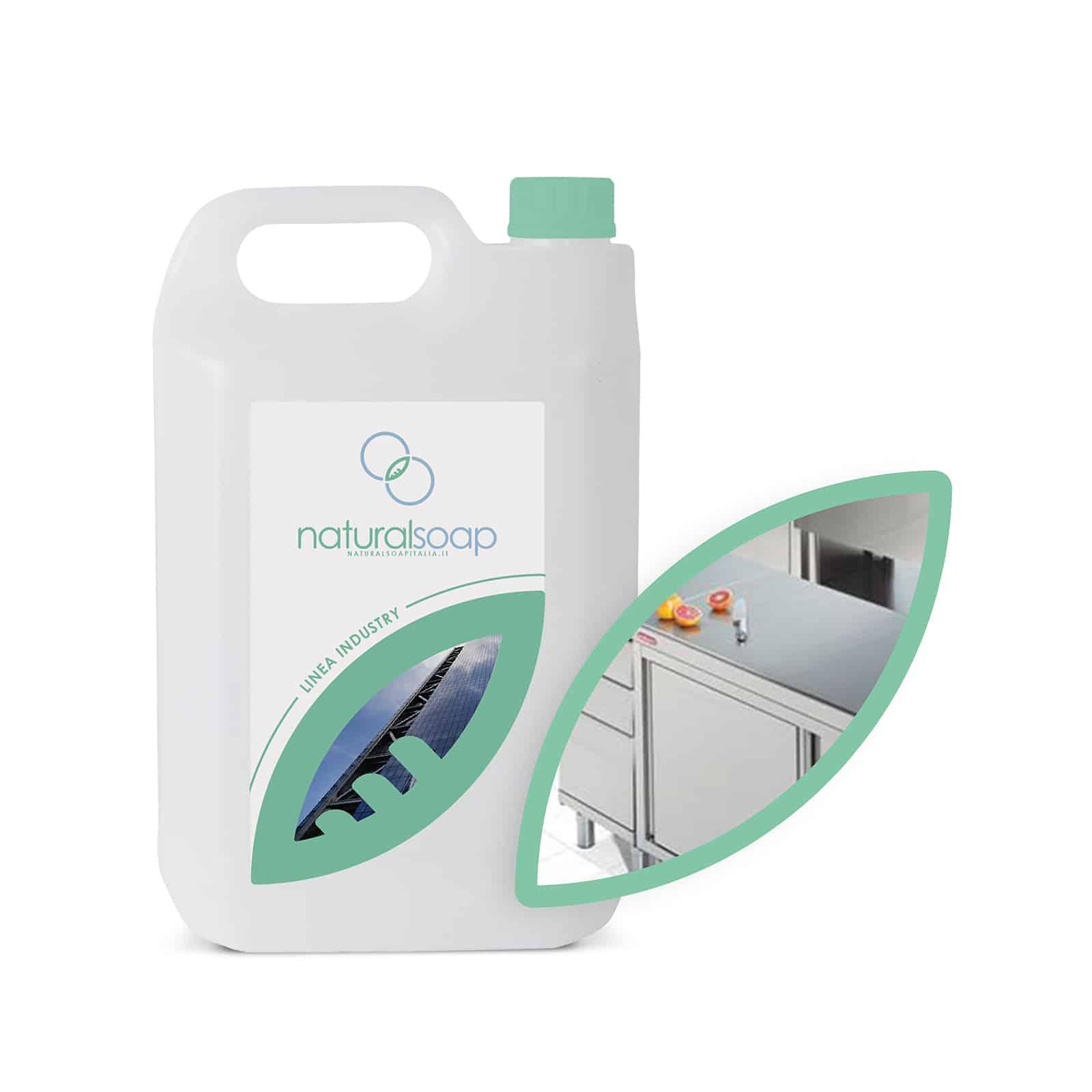 sgrassatore acciaio detergenza industriale natural soap